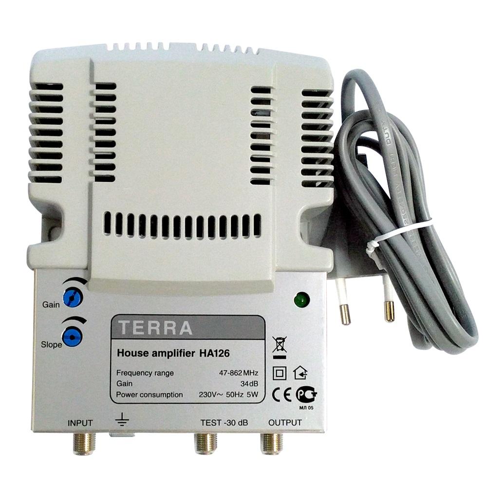 Антенный усилитель Terra HA 126, купить, цена