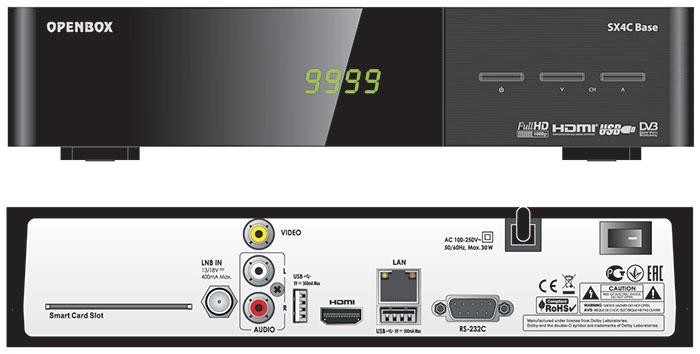 Спутниковый ресивер OPENBOX SX4 BASE+ HD, купить, цена, недорого