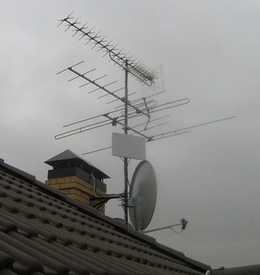 Телескопическая мачта для антенны
