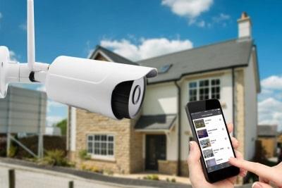 установка видеонаблюдения дома цена