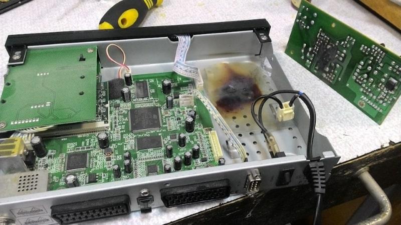 Заявка на ремонт оборудования Триколор ТВ
