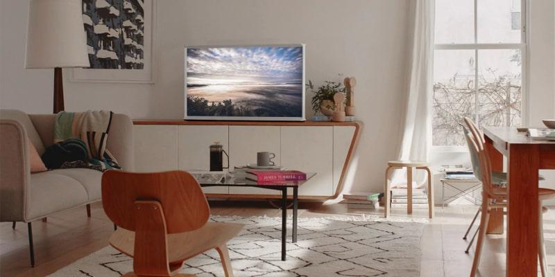 Где купить Телевизор QLED Samsung The Serif QE43LS01RBU